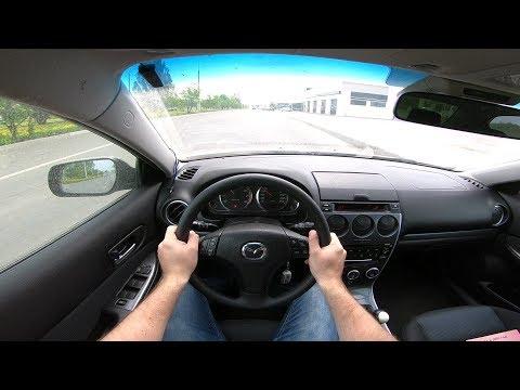 2005 Mazda 6 2.0 (141) POV TEST DRIVE