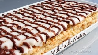 Repeat youtube video Recette de Mille feuille Maison/Homemade Mille feuille-Sousoukitchen
