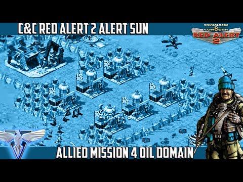 C&C Red Alert 2 Yuri's Revenge Alert Sun - Mission 4 Oil Domain [̲̅$̲̅(̲̅ ͡° ͜ʖ ͡°̲̅)̲̅$̲̅]