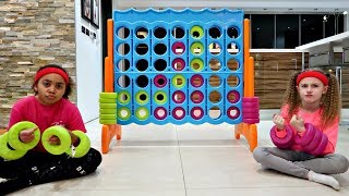 GIANT CONNECT 4 GAME - Family Fun Challenge | Famtastic