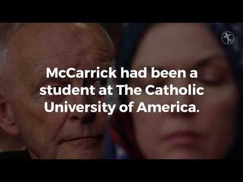 Catholic universities withdraw honorary degrees from McCarrick