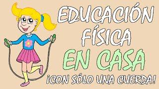 EJERCICIOS DIVERTIDOS para NIÑOS para una EDUCACIÓN FÍSICA en CASA, ideal en tiempos de CORONAVIRUS😷