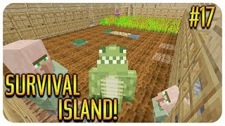 ✅ MINECRAFT - SURVIVAL ISLAND - THE VILLAGER BREEDER! Episode 17