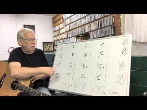 Bob Piorun Guitar  Basics of AABA songs