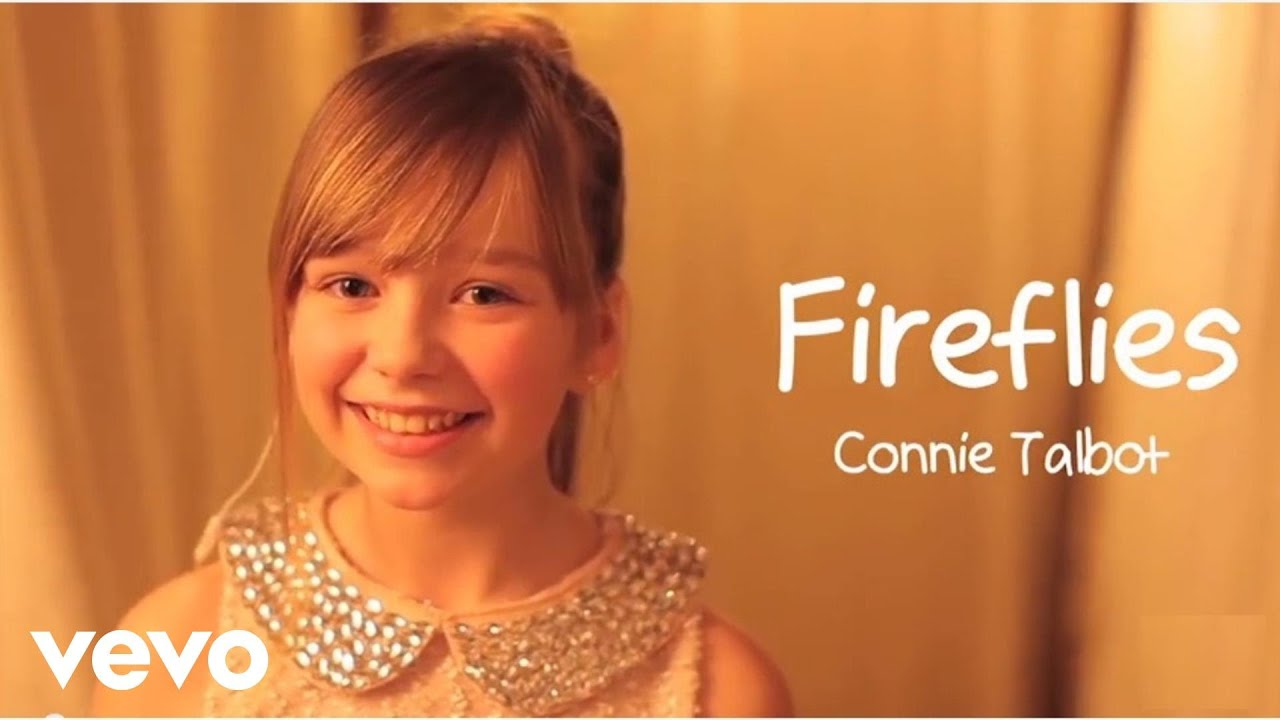 Connie Talbot - Fireflies - YouTube