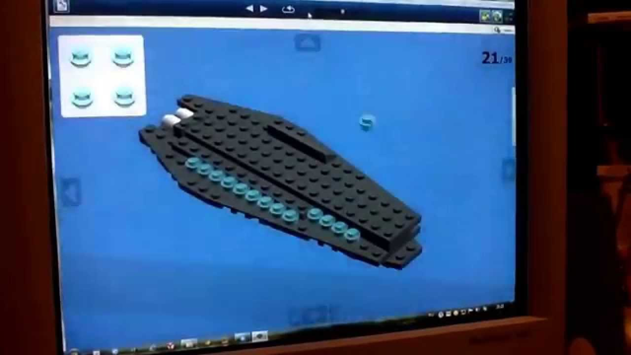 как собрать космический корабль из лего без инструкции