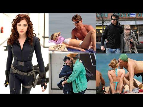 12 Boys Scarlett Johansson Has Dated - (Black Widow)