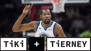 Raptors Earn Durant's Respect | Tiki & Tierney