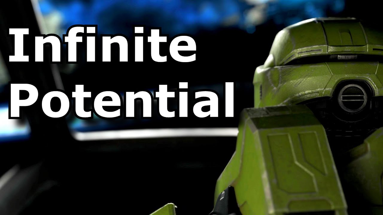Why Halo Infinite's open world not just interests me.. But excites me! | Halo Infinite's Potential