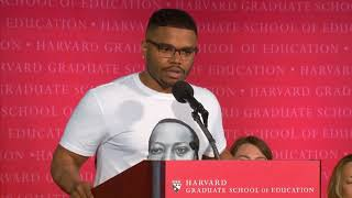 Edyson Julio's Student Speech | HGSE Covocation 2018