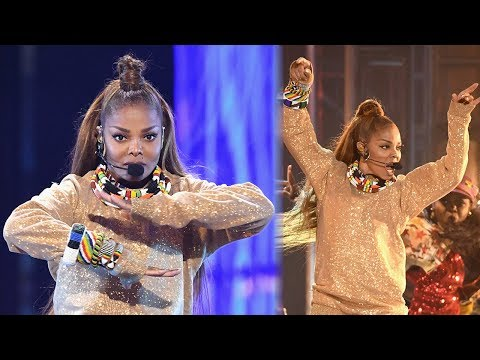"Janet Jackson Performs ""Nasty"" & Tributes #MeToo During 2018 Billboard Music Awards Icon Speech"