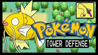 POKEMON TOWER DEFENSE CHALLENGE MODE WALKTHROUGH - OLD ROD