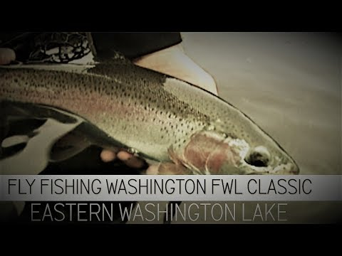 Fly Fishing Washington State FWL Classic Eastern Washington Lake