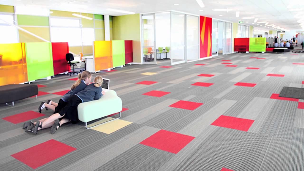 Papamoa School Carpet From Jacobsen Flooring Youtube