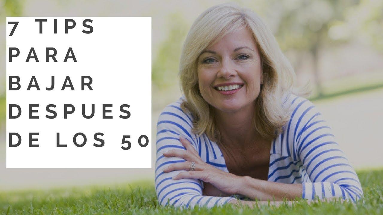 cómo perder peso rápidamente para una mujer de 50 años