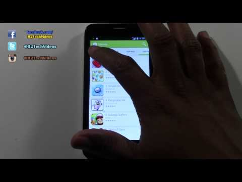 Fierce ONETOUCH - How to Download Games & Apps​​​ | H2TechVideos​​​