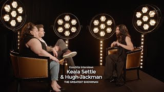 Video Conchita meets Keala Settle & Hugh Jackman (THE GREATEST SHOWMAN Interview) download MP3, 3GP, MP4, WEBM, AVI, FLV Maret 2018