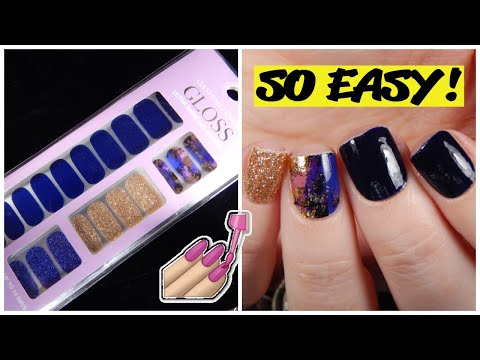 Dashing Diva Gloss Ultra Shine Gel Nail Strips Demo And Review!