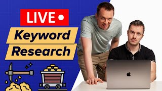 [LIVE] We Do Keyword Research for a Niche YOU Chose