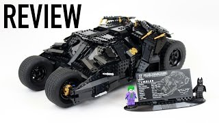 LEGO DC Comics UCS Tumbler Review - Set 76023