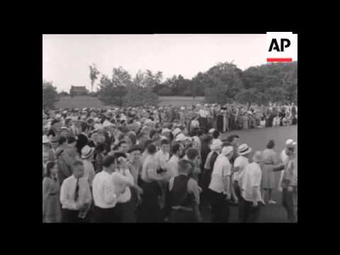 NATIONAL OPEN GOLF TOURNAMENT 1940 - SOUND