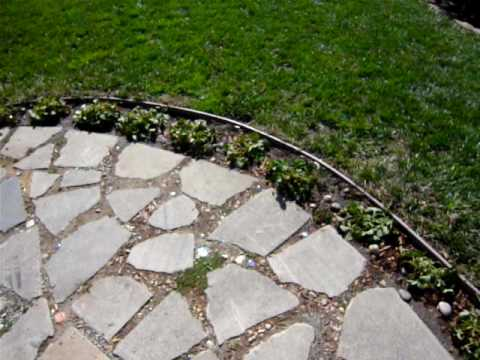 Great Recycled Concrete Pathway: Install A Pathway And Patio   YouTube