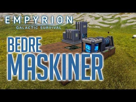 BEDRE MASKINER | Empyrion: Galactic Survival #2