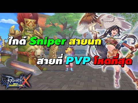 ไกด์ Sniper สายนก สายที่ PVP โหดที่สุด (สเตตัส, สกิล, ของ ฯลฯ) | Ragnarok X Next Generation (ROX)