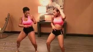 Haitian girls dancing zouk music