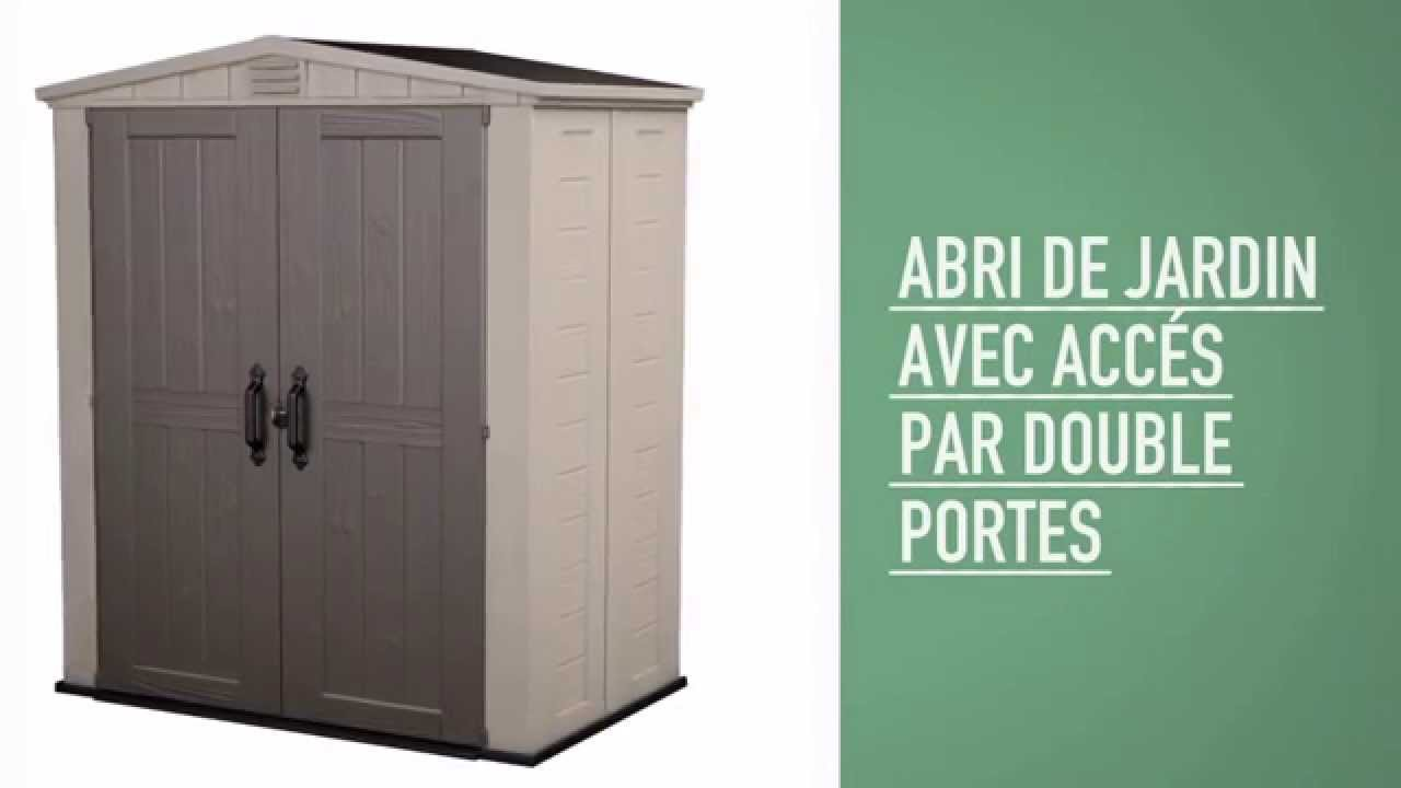 Keter Factor 6x3 Abris de Jardin - YouTube