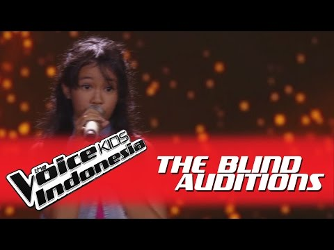 """Alsa """"Somebody to Love"""" I The Blind Auditions I The Voice Kids Indonesia GlobalTV 2016"""