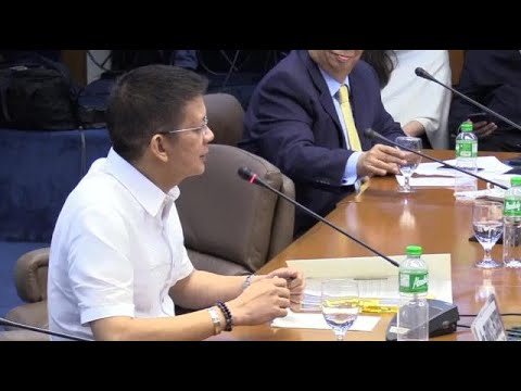 Escudero asks Bautista: Issue waiver to open your bank accounts