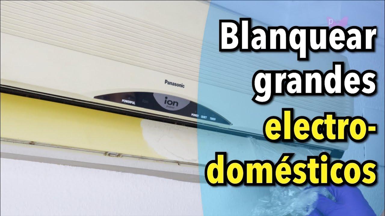 Cómo blanquear electrodomésticos amarillentos