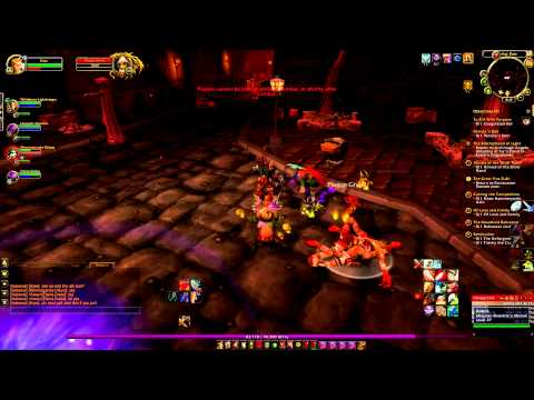 Lets Play WOW Episode 15: Arjax Quiets dungeon group! *No Music*