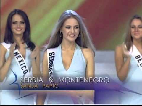 TOP 15 MISS UNIVERSE 2003