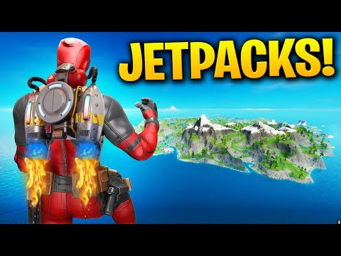 JETPACKS ARE BACK! | FORTNITE 12.60 UPDATE LIVE GAMEPLAY!