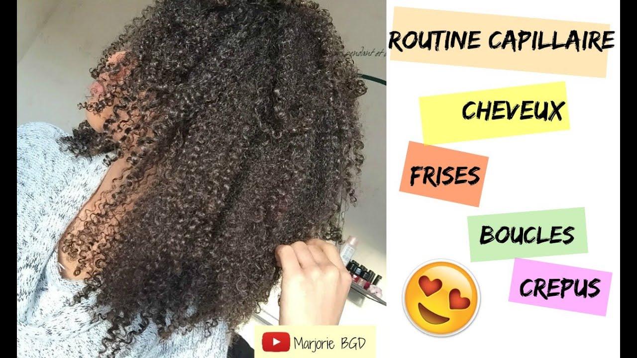Favori Routine capillaire cheveux frisés bouclés crépus en Hiver  EE03