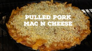 Bbq Pulled Pork Mac N Cheese | On The Traeger Texas Pro
