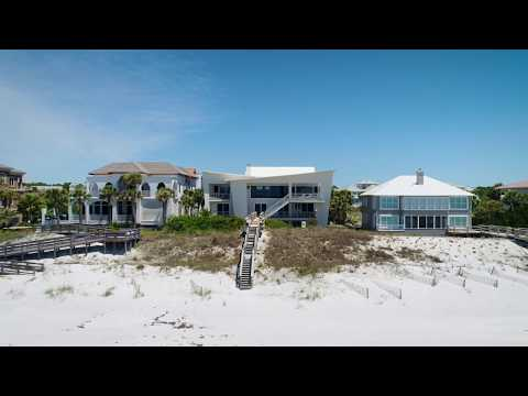Remarkable Gulf Front Contemporary Home in Santa Rosa Beach, Florida