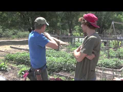 A Visit from The Colorado College Student Farmers