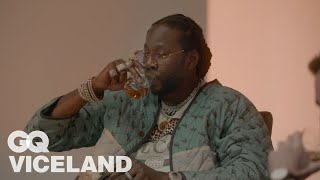 2 Chainz Drinks $10K Japanese Whiskey | Most Expnesivest | GQ & VICELAND