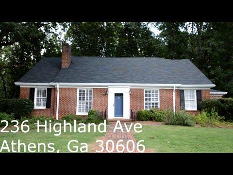 236 Highland Avenue, Athens, GA