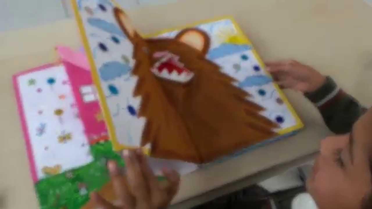 Libro 3d el cuento del oso feo youtube - Como hacer un libro antiguo ...