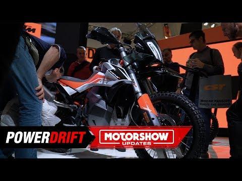 KTM  Adventure R : An offroading hooligan : EICMA  : PowerDrift