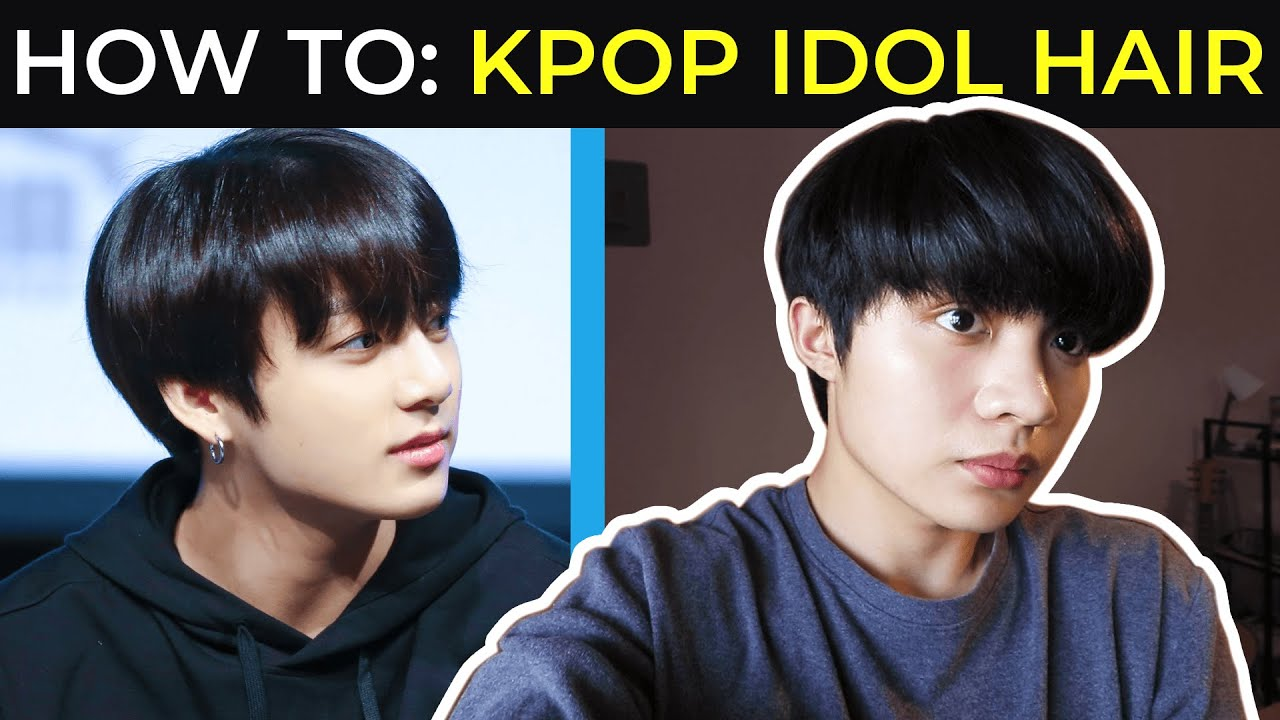 Kpop Hairstyle How To Style Your Hair Like A Kpop Idol Men Sammy Ame Youtube
