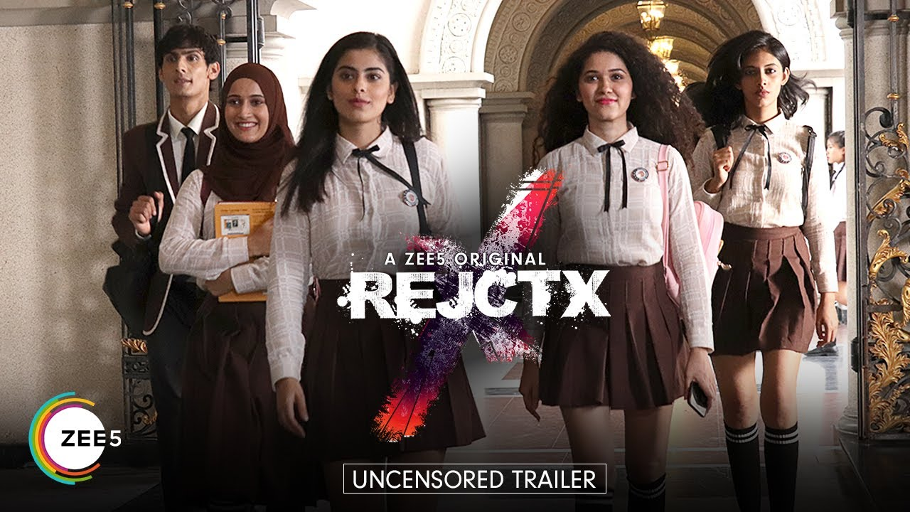 Watch The Trailer Of Zee5's New Teen Thriller 'RejctX'