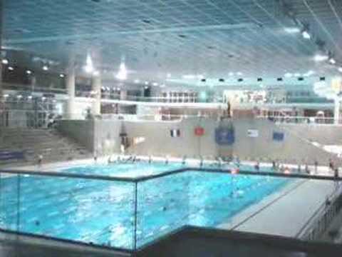 Olympic Pool in MONTPELLIER Antigone  Piscine Olympique MONTPELLIER Antigone  YouTube