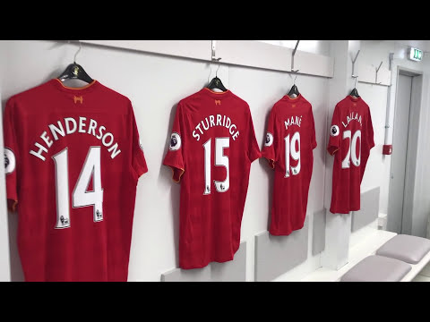 Liverpool FC Anfield Stadium Tour