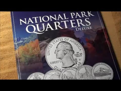 AMAZING QUARTERS in 50 STATES QUARTER FOLDER P and D 2010-2021 - Box 2 from Coin Master