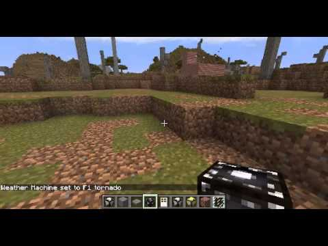 Minecraft: Weather and Tornadoes Mod